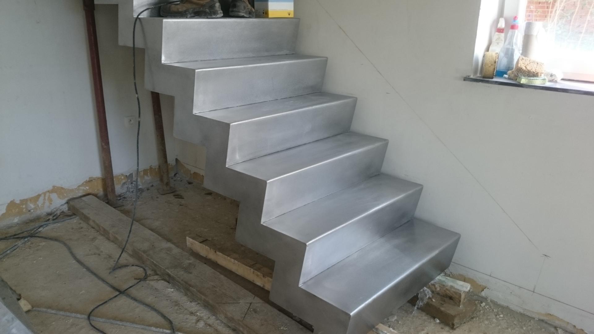 escalier creux