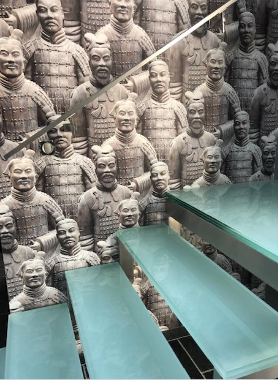 escalier chinois