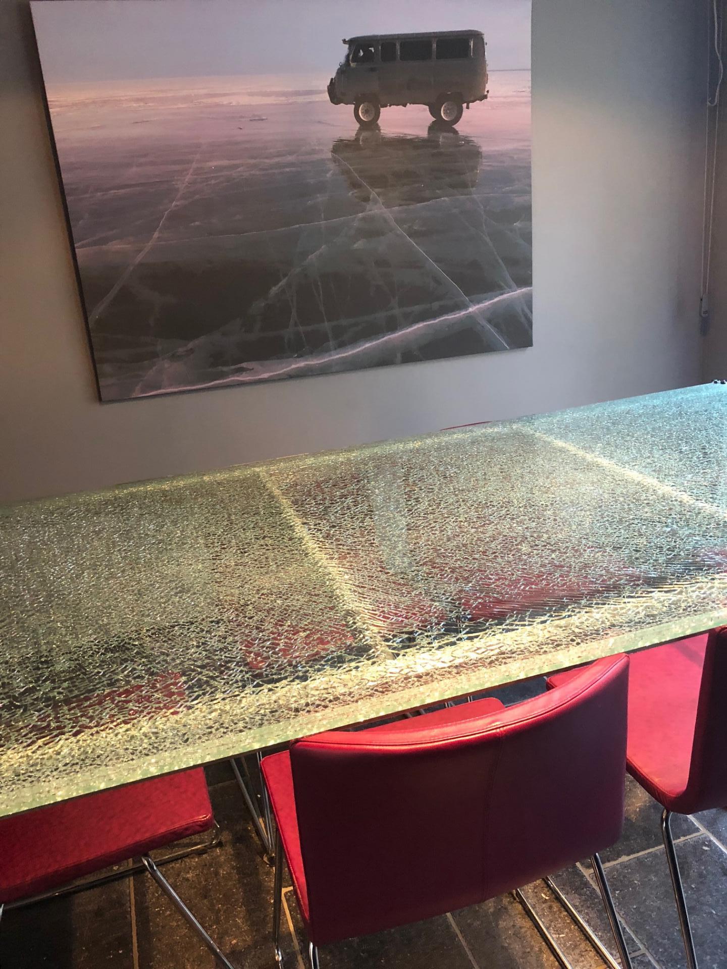 table brisée